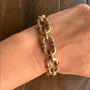 Chloe + Isabel Endless Pavé Link Bracelet